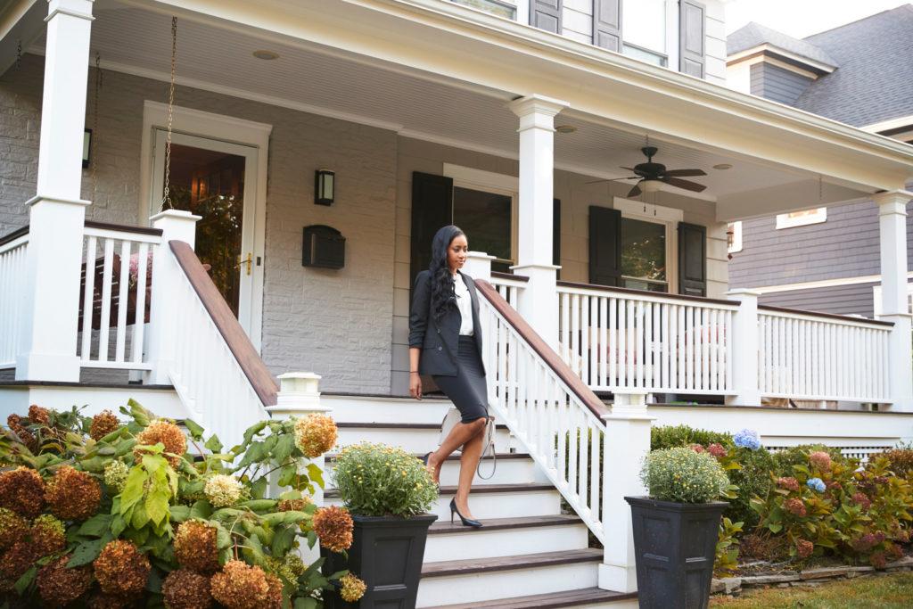 The millionaire next door lives in an unassuming neighborhood.