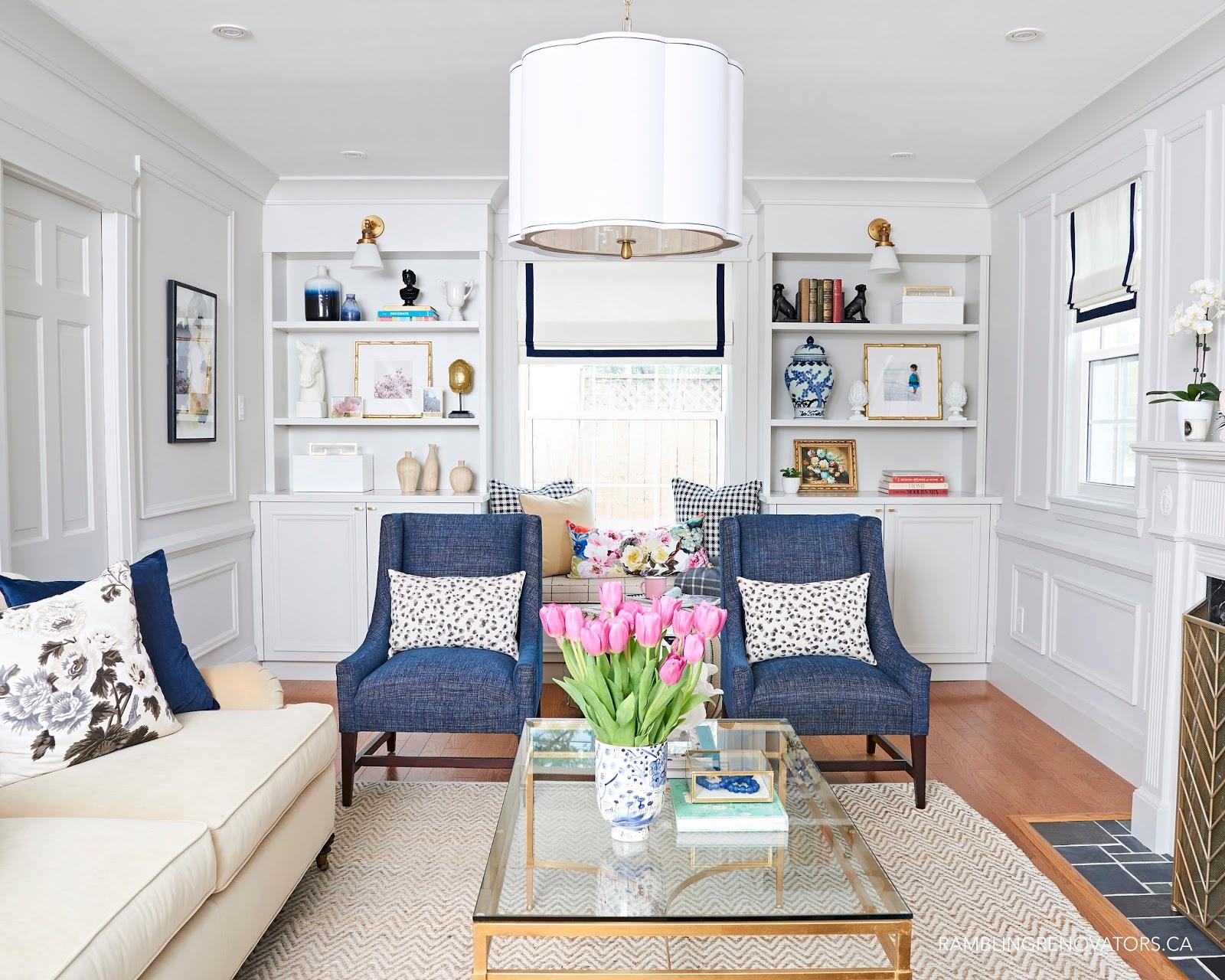 By Jen @ Rambling Renovators for One Room Challenge